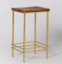 Arlena Kitchen Stool, Brass   £77 at Swoon Editions
