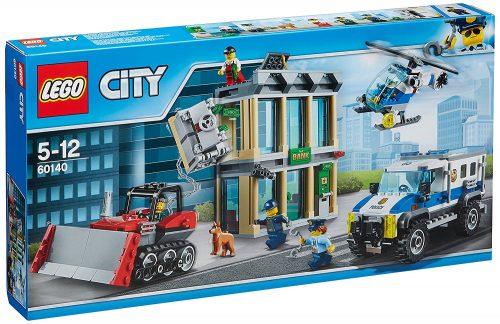 Lego 60140 City Police Bulldozer Break In Construction Toy 4358 At