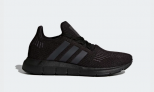 Adidas SWIFT RUN SHOES, Black  £38.46 at Adidas
