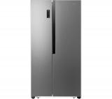 LOGIK LSBSX18 American-Style Fridge Freezer – Silver £359.99 w/code @ Currys