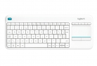 Logitech K400 Plus Wireless Touch Keyboard for Windows, Android and Chrome – QWERTY, UK Layout, White £15.99 at Amazon