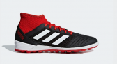 Adidas PREDATOR TANGO 18.3 TURF BOOTS, Black/Red  £48.96 at Adidas