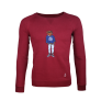 Pullover Sweater PAULY Dark Berry £45.00 @ Paul Hewitt