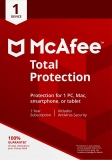 McAfee 2018 Total Protection 1 Year 1 User £7.49 at Amazon and Argos