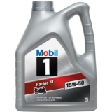 Mobil 1 Racing 4T 4 Stroke Fully Synthetic 15W-50 Motorcycle Engine Oil 4L Litre £43 at Halfords Ebay