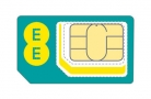 30GB 4G Data £15 a Month 30-Day SIMO Contract at EE