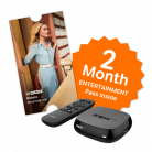 NOW TV BOX + 2 Month Entertainment Pass + Sky Store Voucher £9.85