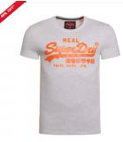 Superdry Vintage Logo T-shirt Ice Marl £14.99  at Superdry eBay