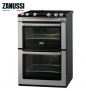 Zanussi ZCI660EXC 60cm Electric Double Oven with Four Induction Hob Zones £529.90 at Hughes