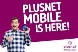 5GB Data, 2500 Mins & Unlimited Texts £10/mth SIM Only Deal Plusnet Mobile