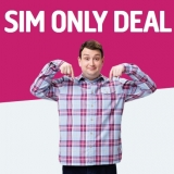 1.5GB Data, Unlimited Mins & Texts £5/mth 30-Day Contract SIM Only Deal Plusnet Mobile