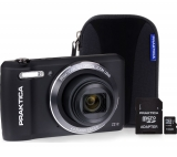 PRAKTICA Luxmedia Z212-BK Compact Camera & Accessories Bundle – Black £77.99 @ Currys