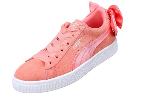 check out cb1b5 2c580 Puma pø Ac 35 Kashy Ps co Amazon Sko Suede Bow Kids 28 £ Trainer rwvrEqCUH