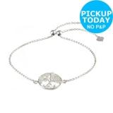 Revere Sterling Silver Family Tree Slider Bracelet £11.99 at Argos Ebay