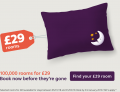 100,000 Rooms for ONLY £29 at Premier Inn