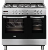 Zanussi 90cm Dual Fuel Range Cooker ZCK98307XA   £695  at Co-op Electrical