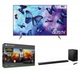 SAMSUNG QE49Q6FNATXXU 49″ 4K QLED TV + HW-N650 5.1 Sound Bar + Xbox One X + PUBG Bundle £1,698.98 @ Currys