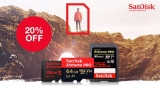 20% Off Selected SanDisk Memory with Code at MyMemory