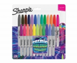 Sharpie Fine Permanent Markers Cosmic Colours Pack of 24 £8.99 @ Ryman