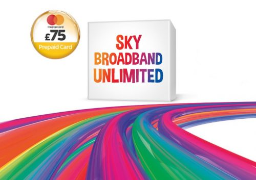 Enjoy Sky Fibre Unlimited, Talk & Line Rental for Only £25 a