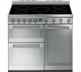 SMEG Symphony SY93I 90 cm Electric Induction Range Cooker – Stainless Steel £1,699 w/code @ Currys