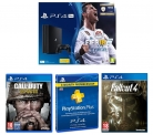 Sony PlayStation 4 Pro + FIFA 18 +  Sony PlayStation Plus 3 Month Subscription +  Fallout 4 + Call of Duty WWII £299.99 at Currys