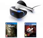 Sony PlayStation VR Starter Pack + Fallout 4 + Gran Turismo Sport £249.99 at Currys