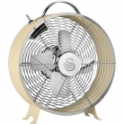 Swan SFA12630CN Retro 8 Inch Clock Fan 20 Watt Desk Fan Cream £31 at AO eBay