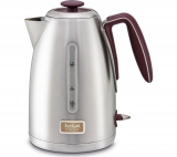 TEFAL Maison KI2605UK Jug Kettle – Stainless Steel & Pomegranate Red £17.91 at Currys