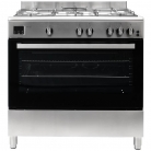 Teknix TKGF90SS 90cm Gas Range Cooker in Stainless Steel or Black + 2 Year Warranty £369 with Code at Co-op Electrical