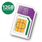 Three 12GB Data PAYG 4G Trio Data SIM Pack – Three Sizes £24.99 at My Memory on eBay