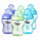 Tommee Tippee Colour My World Feeding Bottles 260 ml/9 oz – 2 Blue 2 Green 2 Voilet, Pack of 6 £15.99 at Amazon