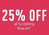 25% Off All Tu Clothing at Argos 🔥 🔥 🔥
