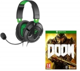 TURTLE BEACH Ear Force Recon 50X 2.0 Gaming Headset & Doom Bundle £29.99 at Currys