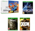 Xbox One S with Forza Horizon 3 & Hot Wheels Expansion Pack + Fallout 4 + Doom + Star Wars Battlefront 2 £199.99 at Currys