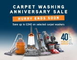 SAVE UP TO £240 on Vax Selected Carpet Washers at Vax