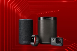 Free Gift: Sonos Play:1, GoPro Hero, Fitbit Charge 2, Amazon Echo 2nd Gen with Vodafone Unlimited Fibre Broadband