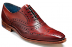 Barker McClean – Rosewood Calf – F – Medium 8 £137.08  at Robinson's Shoes
