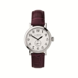 Womens Greenwich Stainless Steel & Black Leather Watch   £175.00  at Links London eBay