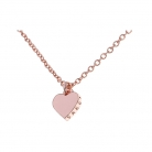 Ted Baker PVD rose plating Hara Tiny Heart Pendant Necklace £29 at Goldsmiths