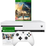 Xbox One S 1TB + Assassins Creed Origins + 3 Month XBox Live + 3 Month Xbox Game Pass £199.20 with Code at AO eBay
