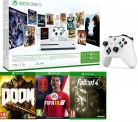 Xbox One S 1TB with 3-Month Game Pass, LIVE Gold Membership, Controller, FIFA 18, Fallout 4 & Doom Bundle £239.99 at Currys