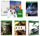 Xbox One S with Forza Horizon 3 & Hot Wheels Expansion Pack + Xbox LIVE Gold Membership 3 Month Subscription + Xbox Wireless Controller + Fallout 4 + Doom + Star Wars Battlefront 2 + Forza Motorsport 7 £250 at Currys