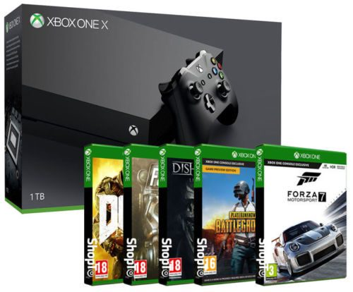 Xbox One X 1tb Forza Motorsport 7 Playerunknown Battleground